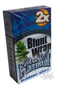 Platinum Wrap Bluntti Blueberry Burst Blue